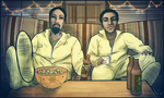 Breaking Community: Abed White and Troy Pinkman by lyssh