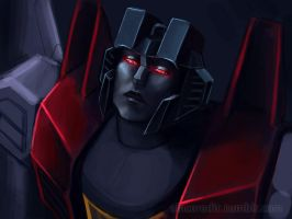 Dramatic Starscream by Sinceredir
