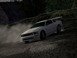2005 Mustang GT by Darthpickle