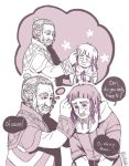 Hobbit - purple ribbons by PetitPotato