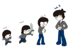 animated short Evolution: ImmortalHD by Chaos55t