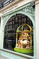 Fortnum and Mason shop window by wildplaces