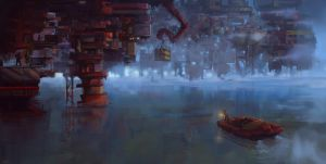 floating city' by kemalgedikk