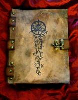 Necronomicon Book of the Outer Gates by MrZarono