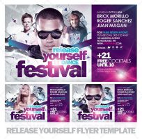 Release Yourself Flyer Templat by EAMejia
