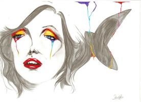 Surreal Monroe by louder-one