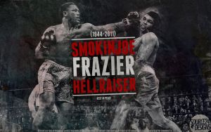 RIP Joe Frazier Wallpaper Tribute by IshaanMishra