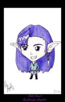 Chibi Dovat -Print Available- by FaluuVaud