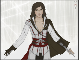 Request: Flavia Auditore by MilkyWayka