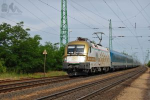 470 010 with Wiener Walzer EN in Hegyeshalom by morpheus880223