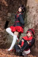 D.gray man | Lenalee and Lavi by MinamiKing