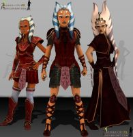 The Three.......... by Ahsoka114