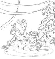 Belated Xmas picture by Taiya001