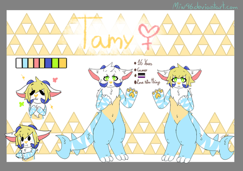 Tamy Anthro Ref by Miw96