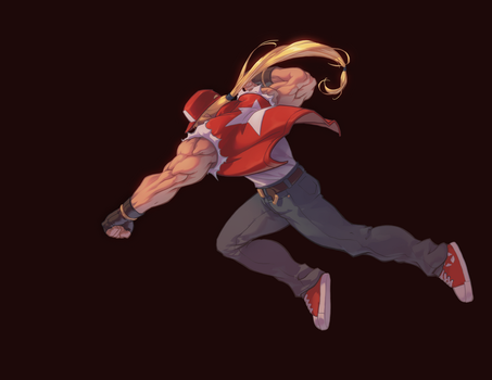 Terry Bogard by AlexRedfish
