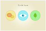 147 Circle Icons (freebie by pixelcave) by pixelcave