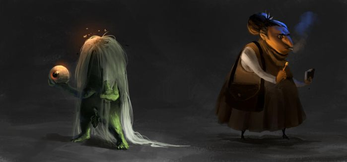 witches !! by hugo-richard
