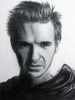 Ralph Fiennes by ThePyrrhaProject
