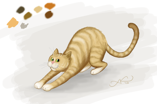 Just another cat =P by Aldeminor