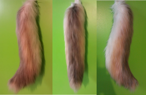 Light Brown Wolf Tail by Radioactimals