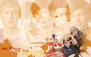 Wallpaper - One Direction by dreamswoman
