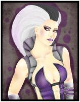 Mortal Kombat 2010: Sindel by Kellalizard