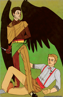 Destiel A La Mode by Sukautto