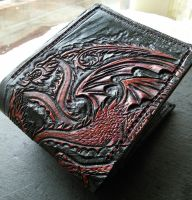 Updated Targaryen leather wallet :-) by Bubblypies