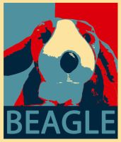 Obey The Beagle by Scavgraphics