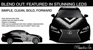 Lexus: BLEND OUT ver.3 by AlexandriaJLee