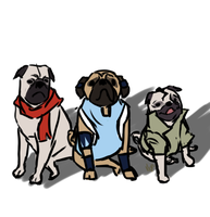 Legend of Pugs by Mhyin