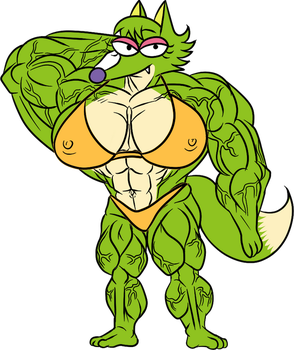 ms.huge Rosa by lilron003