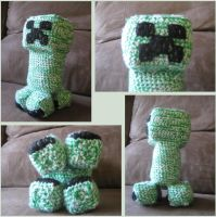 Minecraft Creeper Crochet by Bruce8331