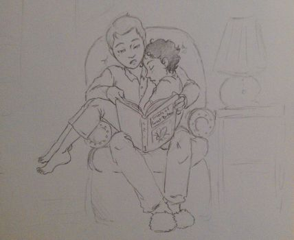 Bed time With Mycroft by Allam