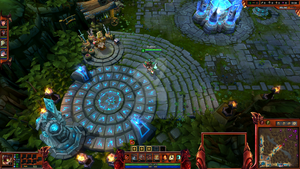 League of legends Warring Kindoms Jarvan Overlay by SnakkeZz