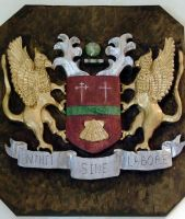 Old Hastingleigh coat of arms by samuraiwoodnut