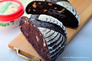 Cacao Bread with Walnut by akemiM