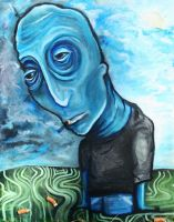 Mr Blue1 by Tearstains