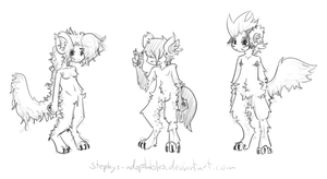 Werewolf Adopties One +Closed+ by Stephys-Adoptables