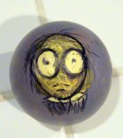 """Heads"" Egg by MichellePrebich"