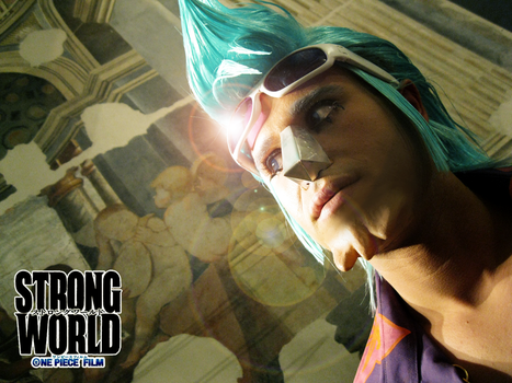 Franky II - STRONG WORLD by drwarumono
