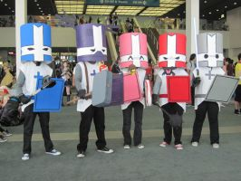 Castle Crashers by TheSapphireDragon1