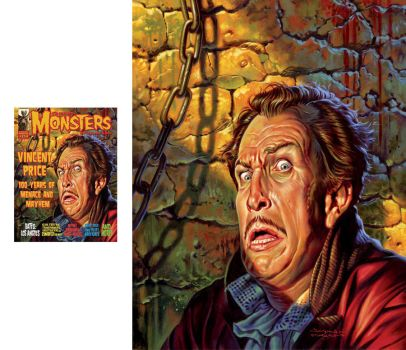 Famous Monsters: Vincent Price by jasonedmiston