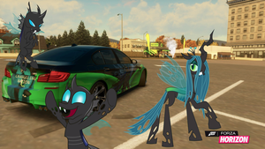 Changeling Nation BMW by EquestianRacer