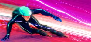 Sheer Speed by marvisionart
