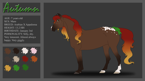.:Autumn Reference 2013:. by PeaBlueJr