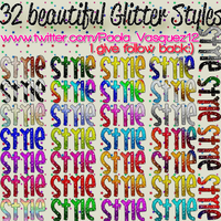 32 Beautiful Glitter Styles by StefanyCullen