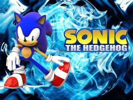 Sonic the Hedgehog - Wallpaper by Knuxy7789