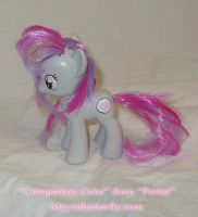 G4 Companion Cube Custom Pony by mayanbutterfly