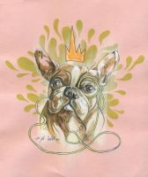 That's Sir Mr. French Bulldog To You. by manfishinc